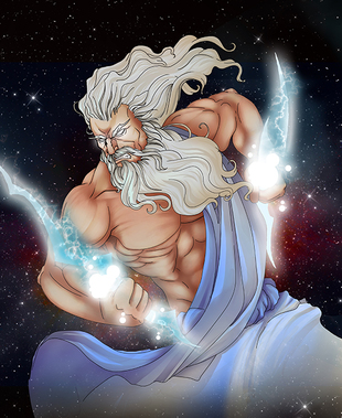 Greek God Zeus