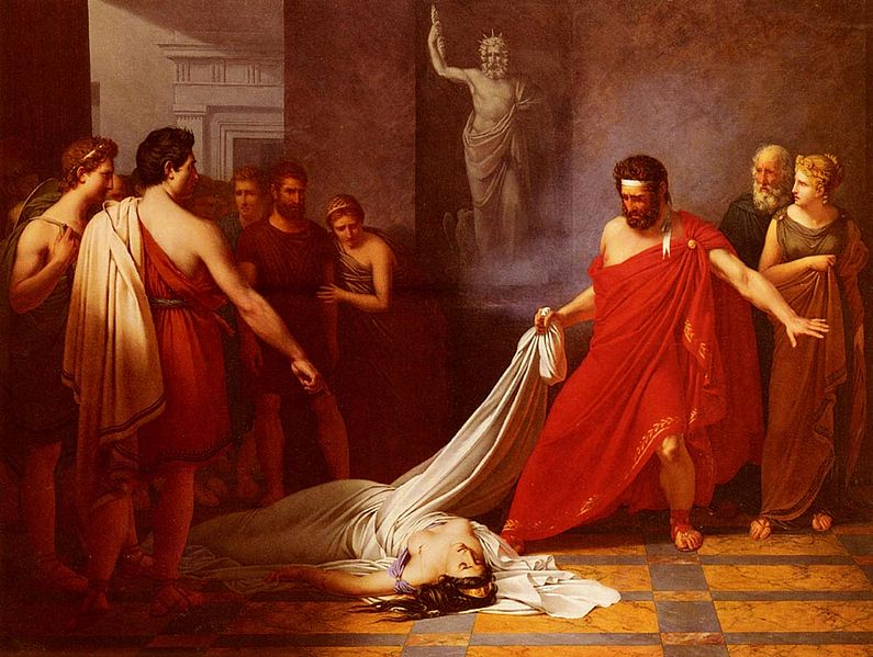 agamemnon and orestes relationship
