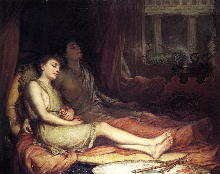 Hypnos and Thanatos