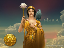 Pictures of the greek goddess hera