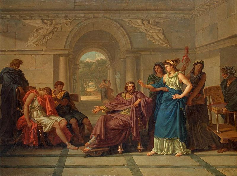 Helen and Menelaus
