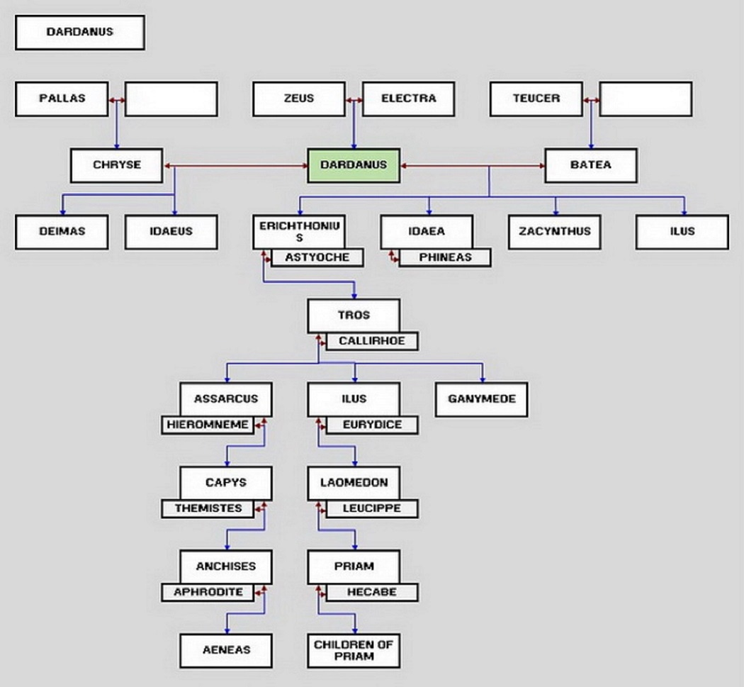 Dardanus Family Tree