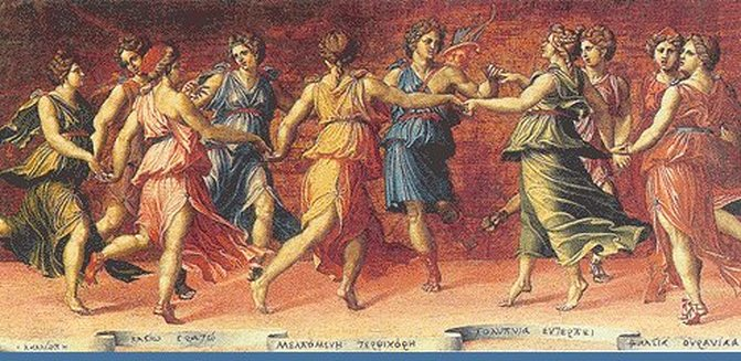 muse greek mythology